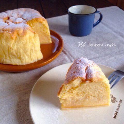 勝手に3層になる魔法のケーキ マジカルカスタードスフレ フランスのお菓子 魔法のケーキ マジック ケーキ レシピ