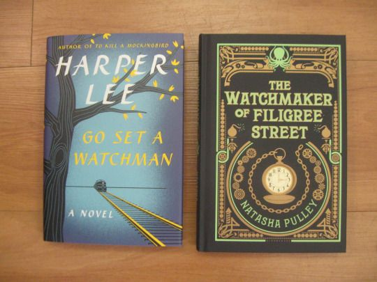 These to are books to watch!
