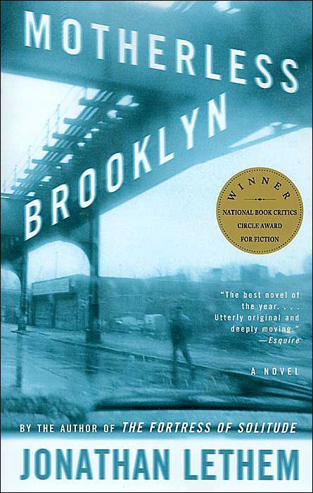 Motherless Brooklyn.  Lethem's great and reminds me of home.