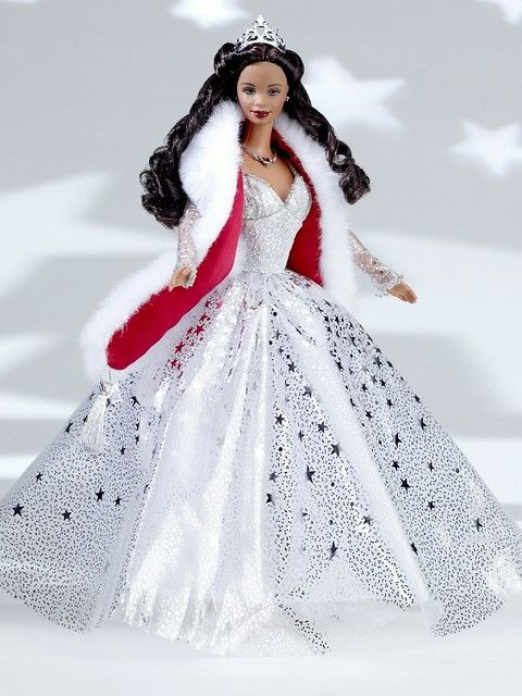 Hallmark Holiday Barbie Ornament 2019 In 2020 Holiday Barbie Holiday Barbie Dolls Christmas Barbie