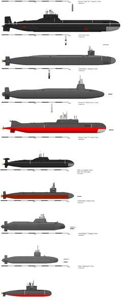 photo essay nucleaire submarines