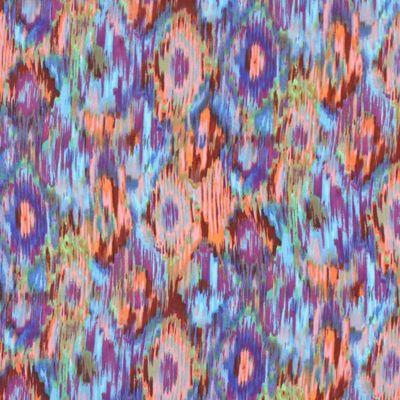 Chiffon Ikat 2 - Farbmix - Frühlings-Sale - Stoffe - Reduzierte Bekleidungsstoffe - Festtagskleidung - Stoffe - Blusenstoffe & Kleiderstoffe...