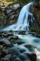 Der Gollinger Wasserfall im Salzburger Land - Die erste Fallstufe