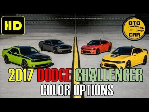 More About Dodge Challenger With Colors Hot Info 2017
