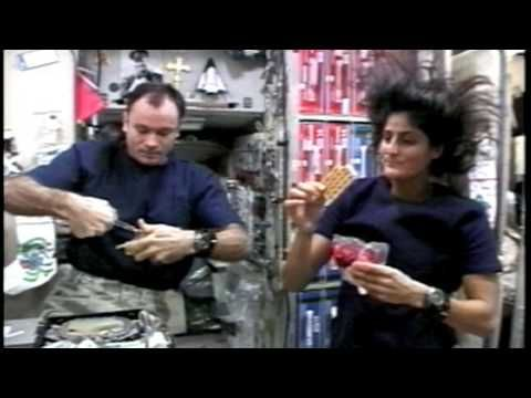 NASA kids | Our World: Space Grub - YouTube | What astronauts eat in space.