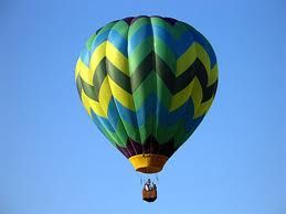To ride in a hot air balloon
