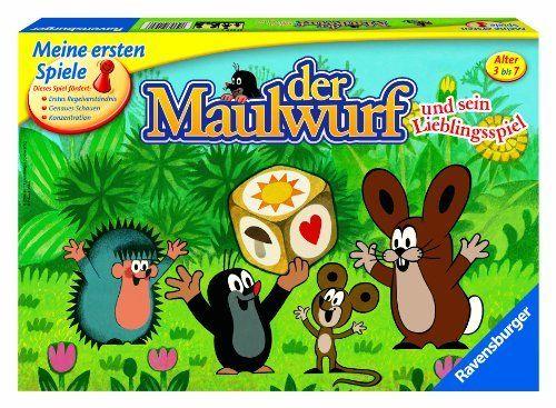 """Ravensburger 21570 - Meine ersten Spiele Der Maulwurf und sein Lieblingsspiel"""""""
