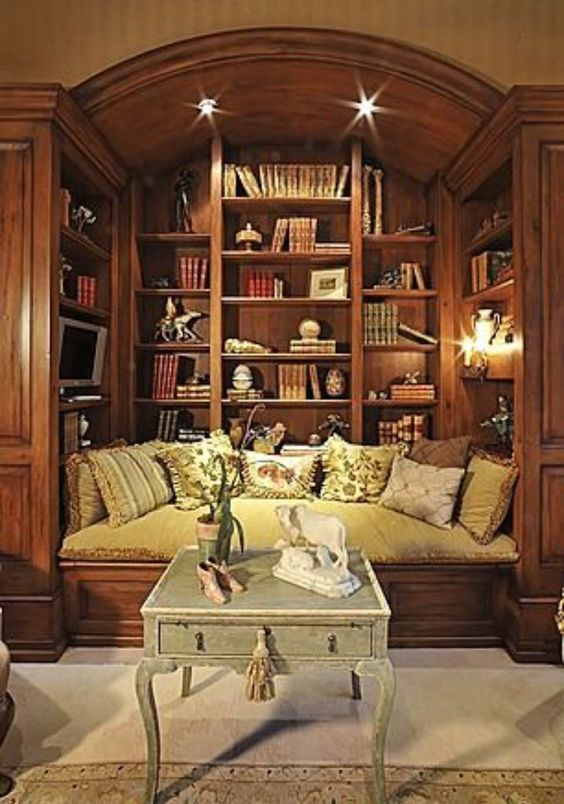 I could so relax and read here.:
