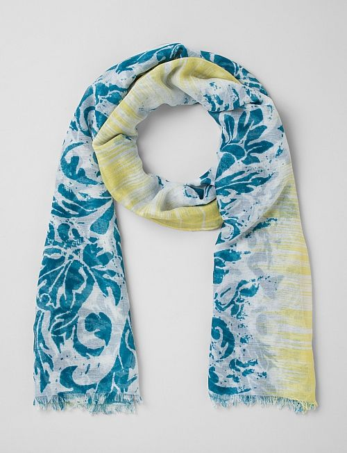 Accessories | Scarves & Wraps | Scroll Print Scarf