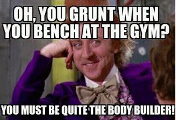 Idiots at the gym