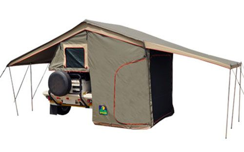 Howling Moon Xt Classic Trailer Tent Comes With An Annex Room Pros Cons Of Trailer Tents Trailer Tent Tent Roof Top Tent