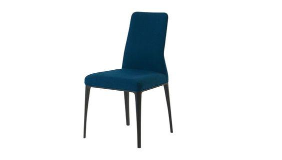 Chaise bleu p trole roche bobois aida s jour pinterest - Roche bobois chaises ...