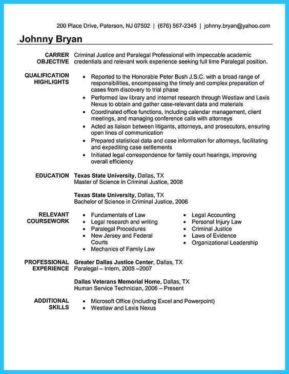 Pinterest u2022 The worldu0027s catalog of ideas - attorney resume format