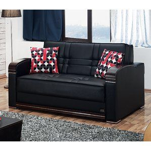 Ursina Sleeper Loveseat By Laude Run