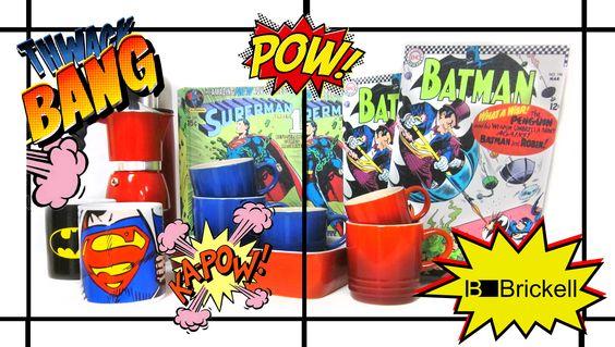 Decoração pra quem gosta de se superar. http://brickell.com.br/busca/batman+superman