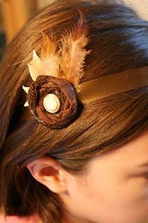 DIY adorable headband - made by @Kristen Hoffman