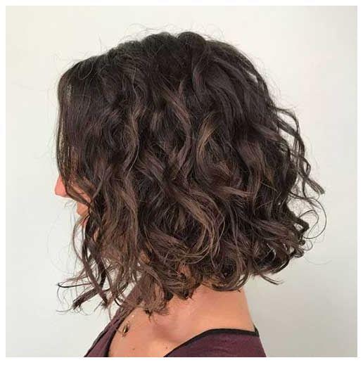 Gelockte Bob Frisuren 2020 Long Curly Bob Wavy Bob Hairstyles