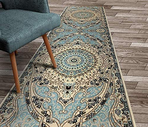 Custom Size Hallway Carpet Runner Rug 31 Inch Wide X Your Choice Of Length Persian Traditional 31 Inch X In 2020 Hallway Carpet Runners Hallway Carpet Carpet Runner
