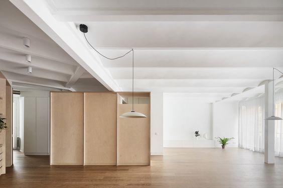 Bajet Giramé Architects reconfigures Barcelona flat for retired couple