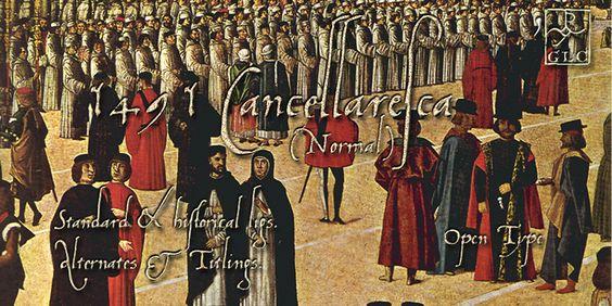 1491 Cancellaresca OTF by GLC Foundry on @creativemarket