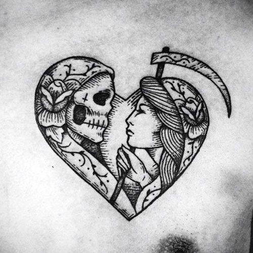Heart Shape Tattoo For Guys Best Heart Tattoos Cool Heart Tattoo Designs And Ideas For Men Tatt Heart Tattoo Designs Traditional Heart Tattoos Shape Tattoo