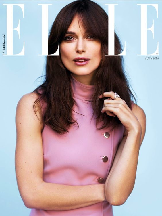 Keira Knightley – Elle UK July 2014
