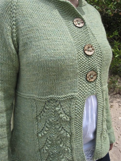 Fiddle Knits Designs--Erica Jackofsky--Shady Grove Cardigan