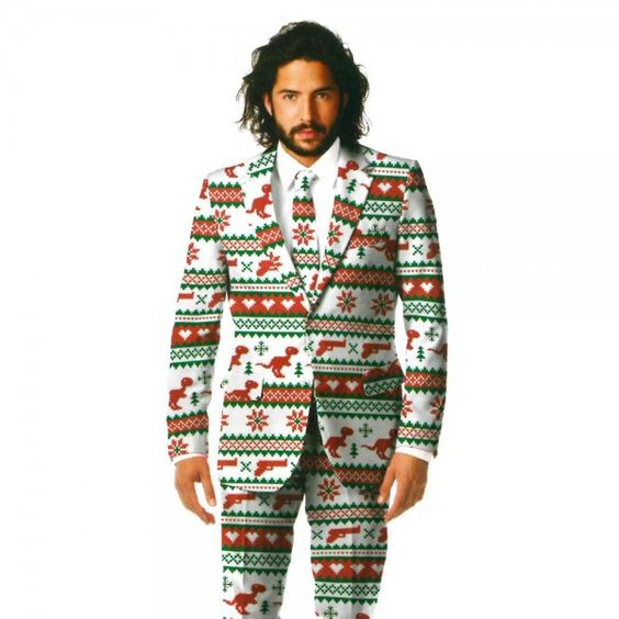 Dinosaur Ugly Christmas Costume Suit | OPPO SUITS | Pinterest ...