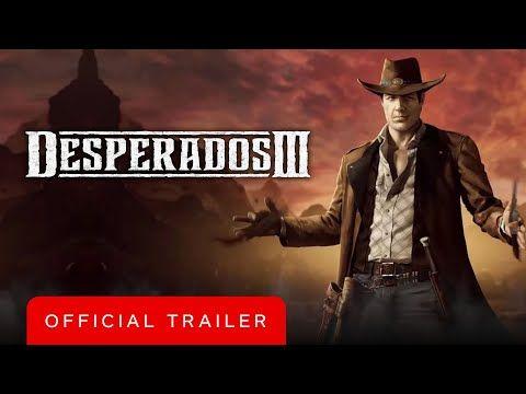 Desperados 3 Official John Cooper Trailer In 2020 Trailer John Cooper John