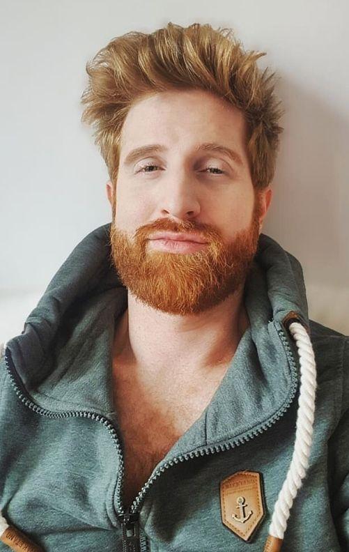Baber S Ginger Handsome Bearded Men