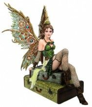 Steampunk Fairy - Rebecca. Love the wings.