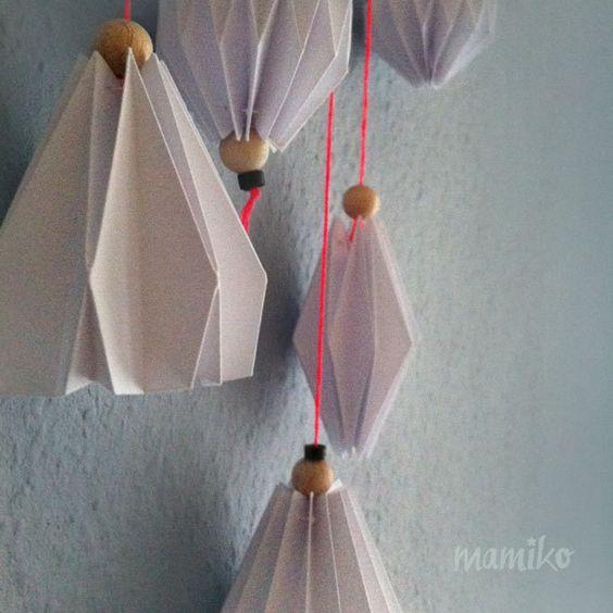 Traumfänger & Mobiles - Mobilé - ein Designerstück von mamiko-shop bei DaWanda