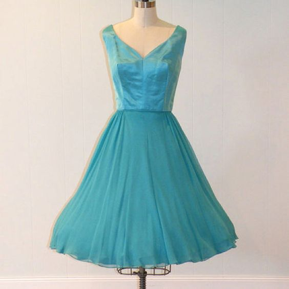 Awesome vintage bridesmaid dress  http://imgfave.com/search/blue%20wedding%20dresses