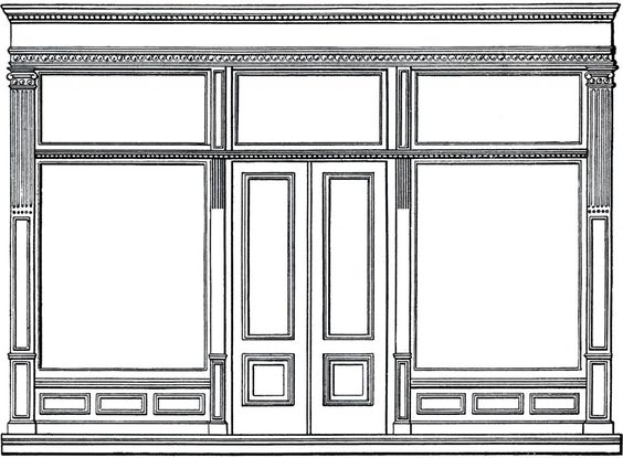 Store Doors Clipart pinterest • the world's catalog of ideas