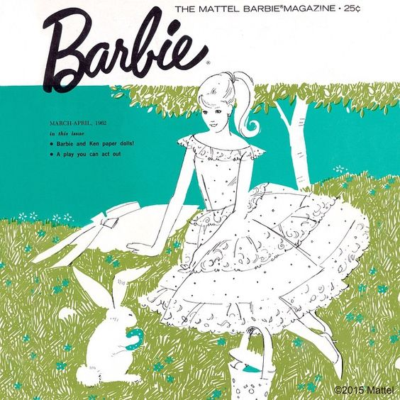 """#TBT to the March/April 1962 issue of """"The Mattel Barbie Magazine""""! #barbie #barbiestyle"""