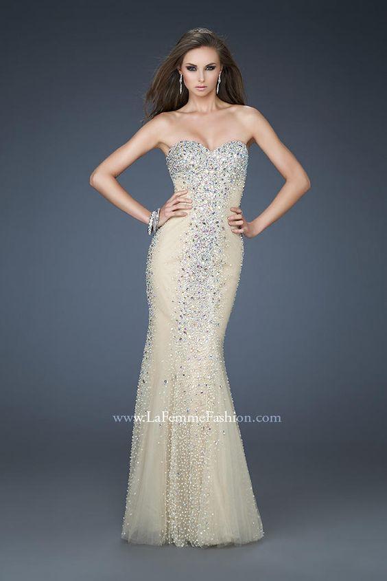 La Femme Evening 18021 La Femme Evening PZAZ DRESSES,THE BEST ...