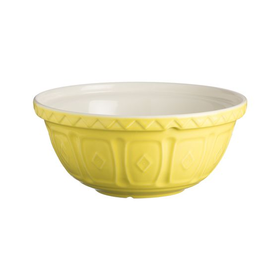 COLOUR MIX S12 BRIGHT YELLOW MIXING BOWL 29CM