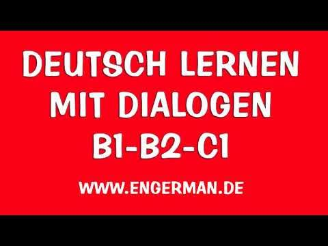 Deutsch Lernen Mit Dailogen Horen Sprechen 25 Dailogen Youtube Learn German German Language Learning German Language
