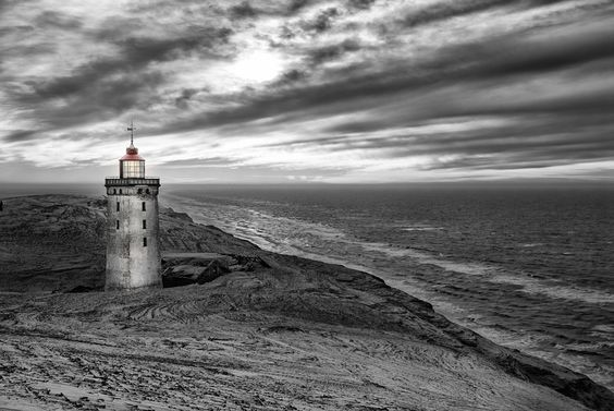Light house, Rubjerg Knude by Michael Beck, via 500px