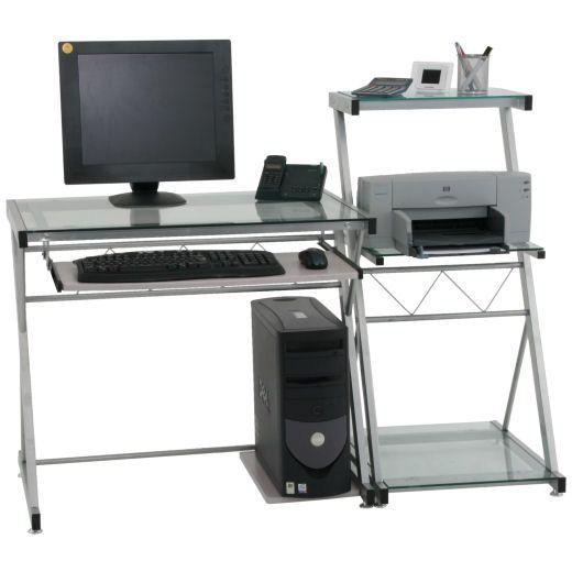 Account Suspended Schreibtisch Glasschreibtisch Computer
