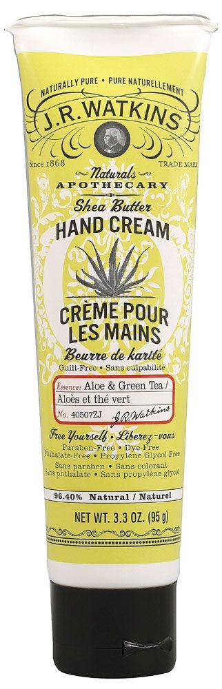 J. R. WATKINS Hand Cream - creme hidratante para aso mãos produzido pela centanária marca americana JK Watkins. Feitos com manteiga de karité, coco e aloe vera. Disponível em 3 fragâncias: limão, açaí c/romã e lavanda. Vende online, farmácias e supermercados dos EUA. Preço Médio: US$ 7. #cosmeticdetox #handcream #jkwatkins #hidratante #crueltyfree