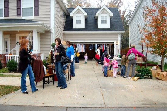 The Nester's Yard Sale Tips