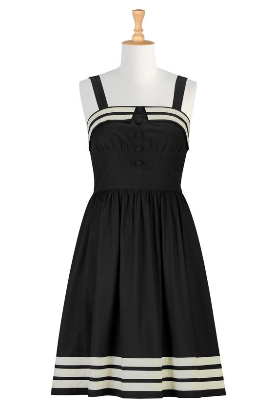 Black white dresses White dress and Clothes on Pinterest