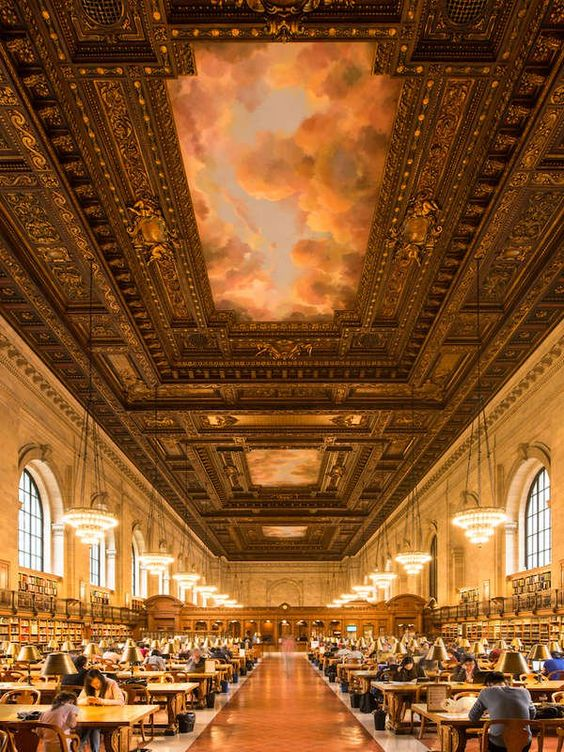 New York Public Library | The 25 Most Beautiful Libraries in America