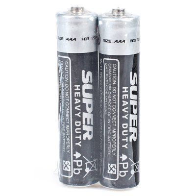 $0.57 (Buy here: http://appdeal.ru/b2t5 ) Low Carbon and Environment Friendly Wally Size AAA 1.5V Carbon Battery - 2Pcs for just $0.57