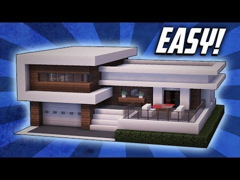 Minecraft How To Build A Large Modern House Tutorial 22