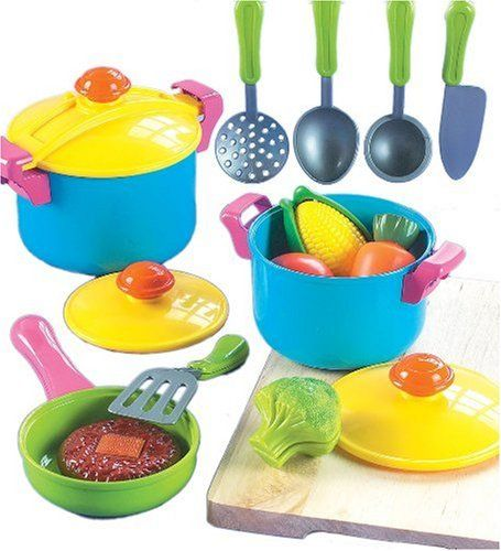 Small World Living Toys Young Chef Cookware Set $19.69