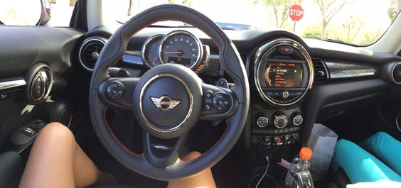 My mini 2014 CooperS Interior