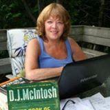 Jamie Tremain - Mystery/Crime Writers Pam Blance & Liz Lindsay - Pam interviews Award winning writer - D.J. McIntosh