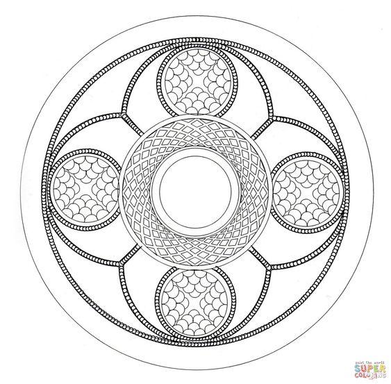 Celtic art , Pattern , Mandala
